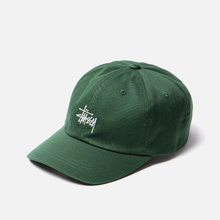 Кепка Stussy Stock Low Pro Embroidered Logo Green фото- 2