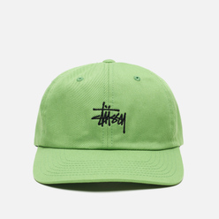Кепка Stussy Stock Low Pro Embroidered Logo Green/Black