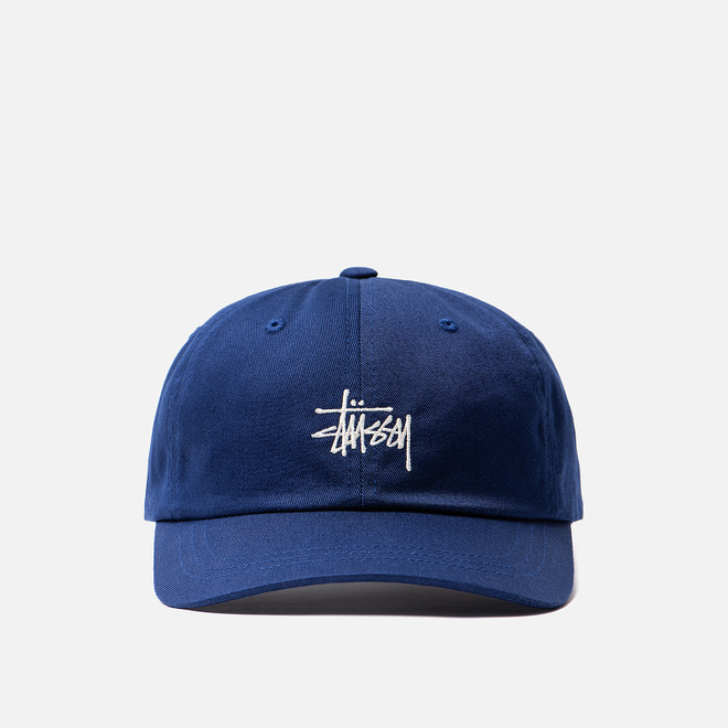 Кепка Stussy Stock Low Pro Embroidered Logo Navy