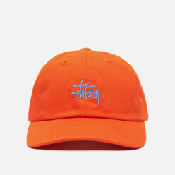 Кепка Stussy Stock Low Pro Embroidered Logo Orange/Blue