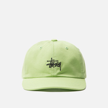 Кепка Stussy Stock Low Pro Lime фото- 0
