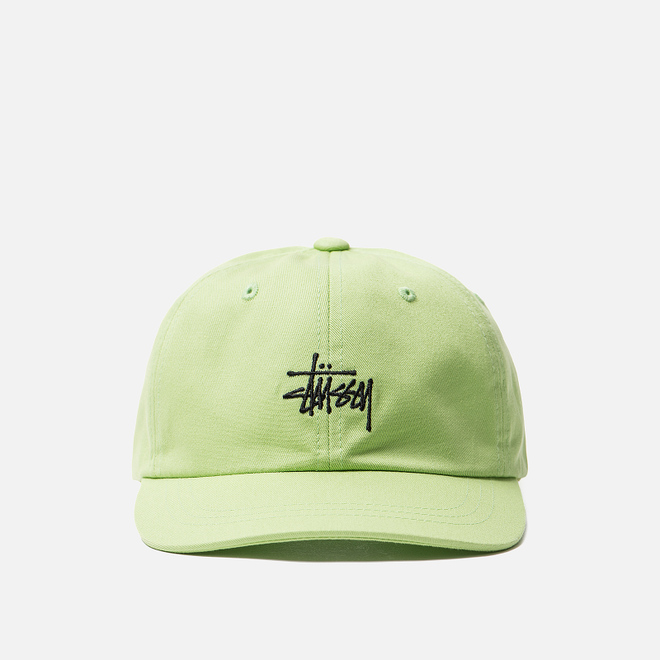 Кепка Stussy Stock Low Pro Lime