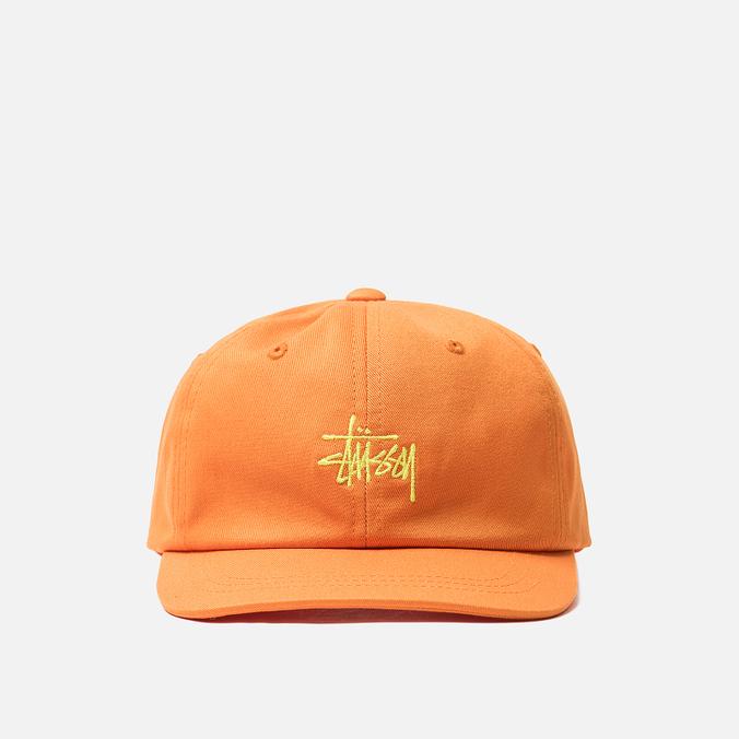 Кепка Stussy Stock Low Pro Orange