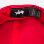 Кепка Stussy Stock SP16 Red фото- 4