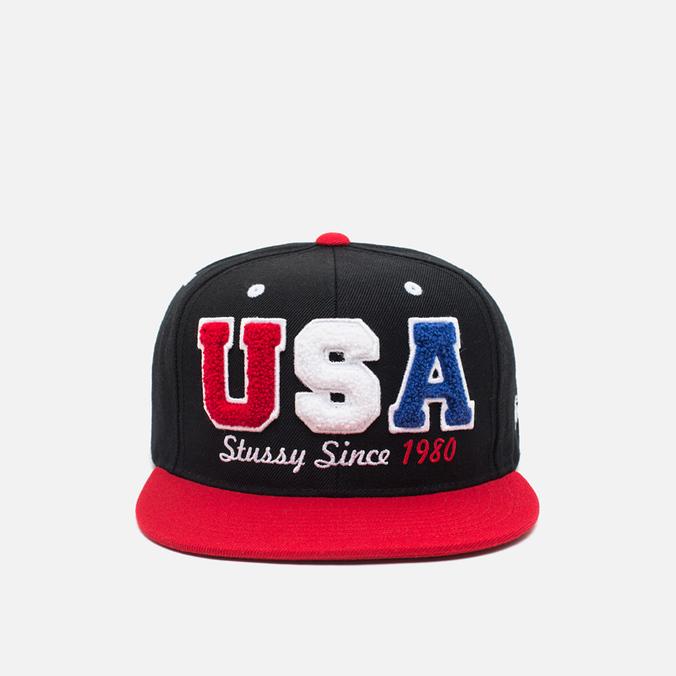 Stussy Team Starter Cap Black