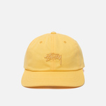 Кепка Stussy Tonal Stock Low Yellow фото- 0