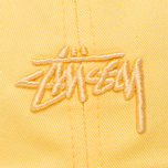 Кепка Stussy Tonal Stock Low Yellow фото- 3