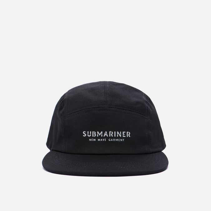 Кепка Submariner 5 Panel Reflective Print Logo Black