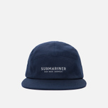 Кепка Submariner 5 Panel Reflective Print Logo Navy фото- 0