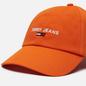Кепка Tommy Jeans Sport Badge Flag Orange Peel фото - 2