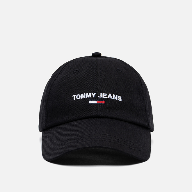 Кепка Tommy Jeans Sport Logo Embroidery Black