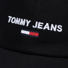 Кепка Tommy Jeans Sport Logo Embroidery Black фото- 3