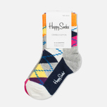 Детские носки Happy Socks 2-pack Argyle/Five Colour фото- 0