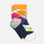 Детские носки Happy Socks 2-pack Argyle/Five Colour фото- 3