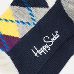 Happy Socks 2-pack Argyle/Five Colour photo- 4