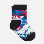 Детские носки Happy Socks 2-pack Camo Dots Blue/Red/White фото- 2