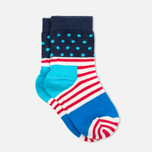 Детские носки Happy Socks 2-pack Camo Dots Blue/Red/White фото- 3