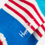 Детские носки Happy Socks 2-pack Camo Dots Blue/Red/White фото- 4
