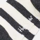 Детские носки Happy Socks 2-pack Hawaii Stripe Grey/White фото- 4