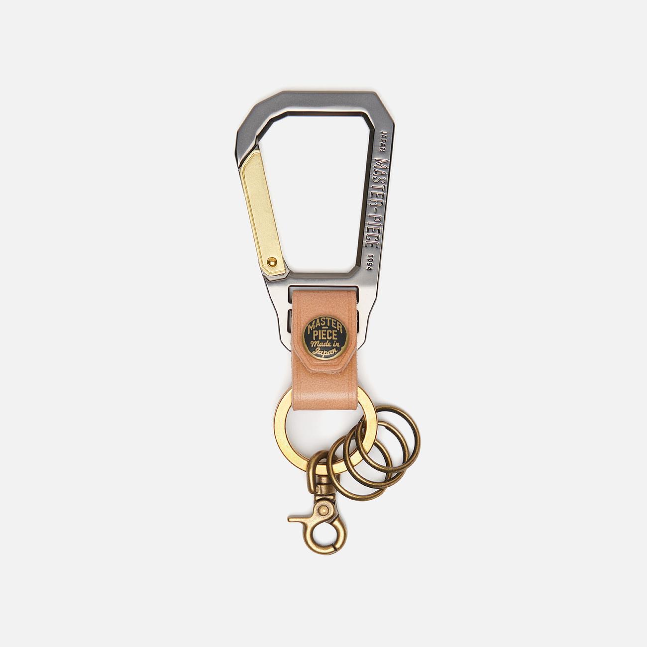 Ключница Master-piece Carabiner Beige