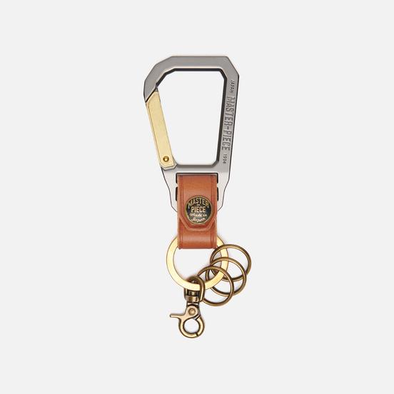 Ключница Master-piece Carabiner Camel