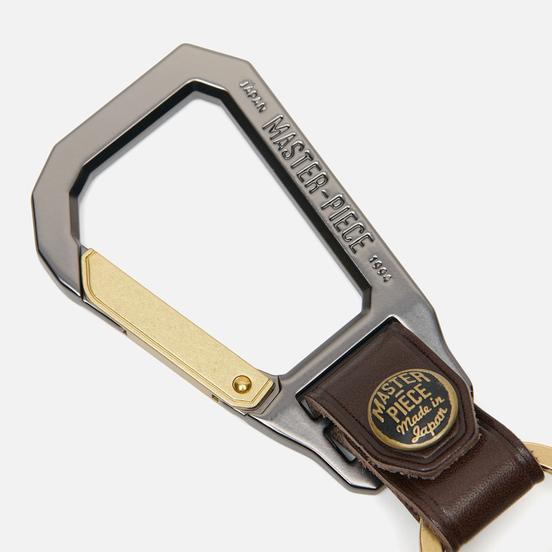 Ключница Master-piece Carabiner Choco
