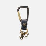 Master-Piece Carabiner Key Case Navy photo- 0