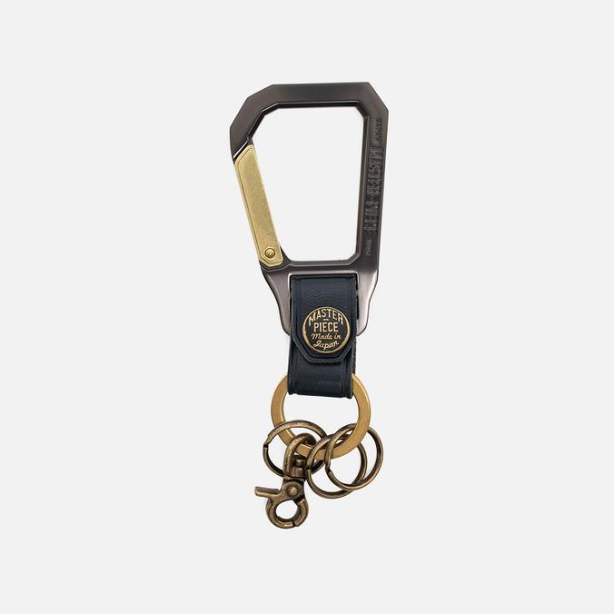 Master-Piece Carabiner Key Case Navy