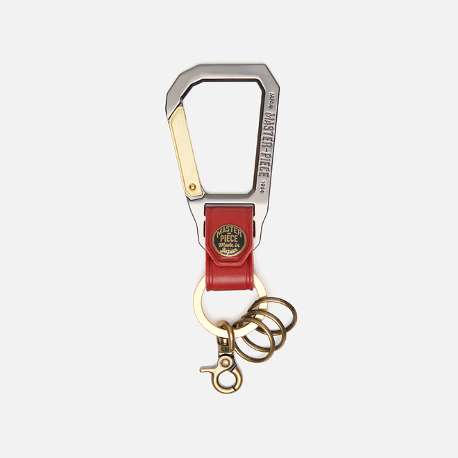 Ключница Master-piece Carabiner Red