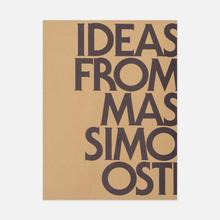 Книга Corraini Edizioni Ideas From Massimo Osti 432 pgs фото- 0