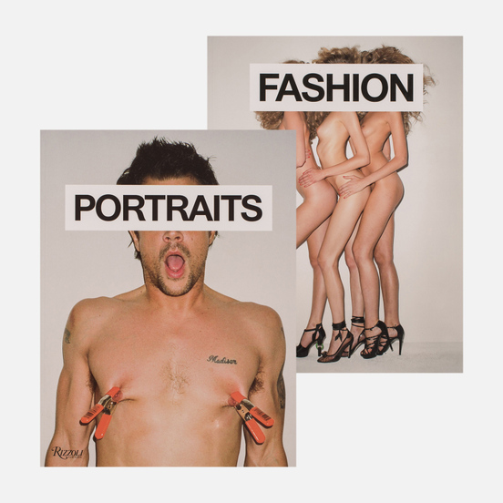 Комплект книг Rizzoli Terry Richardson: Portraits And Fashion 2 Volumes