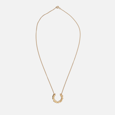 Колье Fred Perry Laurel Wreath Necklace Gold