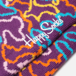 Детские носки Happy Socks 2-pack Electric Socks Black/Pink/Purple/Yellow фото- 2