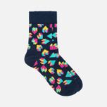 Happy Socks Argyle 2 Pack Children's socks Blue/Green/Orange/Purple/Red/Yellow photo- 2