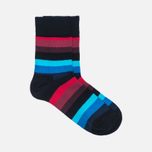 Комплект детских носков Happy Socks Big Dot 2 Pack Black/Blue/Red/White фото- 1