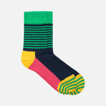 Happy Socks Big Dot 2 Pack Children's socks Blue/Green/Pink/Turquoise/Yellow photo- 1
