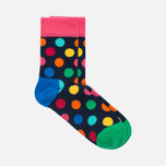 Комплект детских носков Happy Socks Big Dot 2 Pack Blue/Green/Pink/Turquoise/Yellow фото- 2