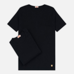Комплект мужских футболок Armor-Lux Heritage 2 Pack Black/Black фото- 0
