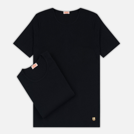 Комплект мужских футболок Armor-Lux Heritage 2 Pack Black/Black