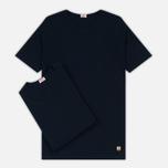 Комплект мужских футболок Armor-Lux Heritage 2 Pack Navy/Navy фото- 0