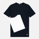 Комплект мужских футболок Armor-Lux Heritage 2 Pack White/Dark Navy фото- 0