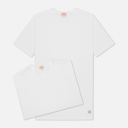 Комплект мужских футболок Armor-Lux Heritage 2 Pack White/White