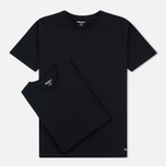 Carhartt WIP Standart Crew Neck Men's T-shirts Black/Black photo- 0