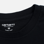 Carhartt WIP Standart Crew Neck Men's T-shirts Black/Black photo- 4