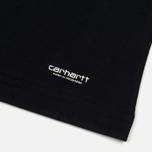 Комплект мужских футболок Carhartt WIP Standart Crew Neck White/Dark Navy фото- 3