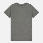 Комплект мужских футболок Carhartt WIP Standart Crew Neck White/Grey Heather фото- 1