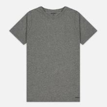 Комплект мужских футболок Carhartt WIP Standart Crew Neck White/Grey Heather фото- 1