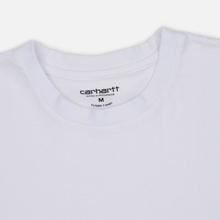 Комплект мужских футболок Carhartt WIP Standart Crew Neck White/Grey Heather фото- 6
