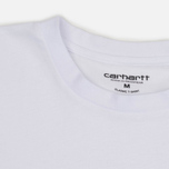 Комплект мужских футболок Carhartt WIP Standart Crew Neck White/Grey Heather фото- 7