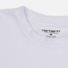 Комплект мужских футболок Carhartt WIP Standart Crew Neck White/Grey Heather фото- 7
